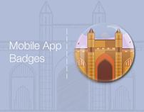 Tour Destination Badges for HolidayIQ Mobile App