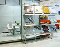 Visa // Exhibition Stand @Cardist Fair