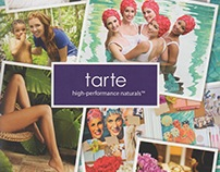 tarte x Aquallillies Summer 2013 Pamphlet