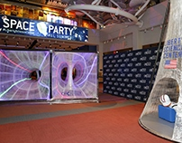 SPACE PARTY at Liberty Science Center