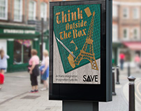 Save the Arts | Think Outside the Box