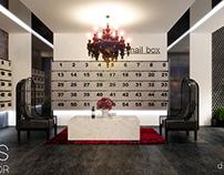 Lobby interior project