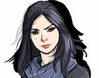 Jessica Jones - Sketch
