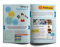 Ozefitness marketing collateral