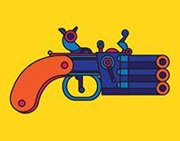 Flint Pistol