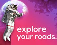 Explore your roads.