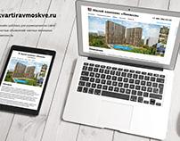 Redesign Kvartiravmoskve.ru