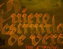 El Señor de los Anillos - Memorias Caligráficas