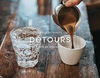 Détours, café et cuisine - Brand Design