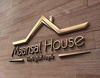 Maansal House (Builders) Logo