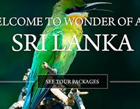 Ceylonica Tours Website Design