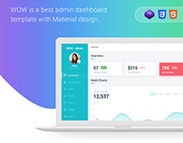 $12 WOW | Admin Panel | Dashboard Concept