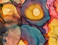 B l o o m | Alcohol Ink