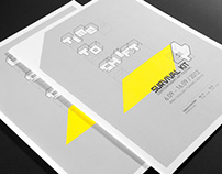 Survival Kit 4—logo, typography, layout design