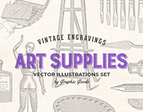 Art Supplies – Vintage Illustrations