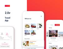 Travel App for Way 2.0v