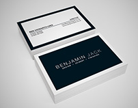Achromatic Business Card design