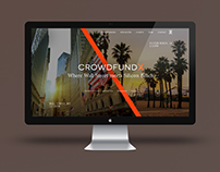 CrowdfundX Site Design & Branding