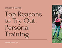 Sandra Charton   Personal Training Benefits