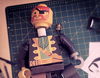 Papercraft Lego pirate