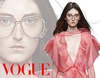 Ilustraciones Vogue México, marzo 2016.
