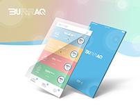 Burraq CRM Dashboard - UI/UX mobile App