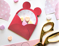 Mini Mickey Envelopes