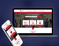 Edenred CZ - Web App Benefity Café