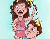 Ilustración para revista
