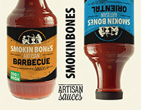Sauce Bottle Labels - Smokin Bones