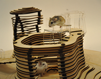 Hamster Privacy House
