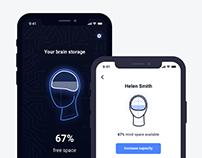 Brain Space Management App Concept