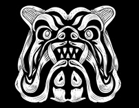 Bulldog T-Shirt Design For Print