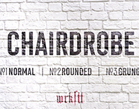 CHAIRDROBE FONTFACE