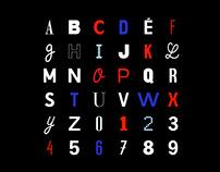 36 days of type - Jean Luc Godard
