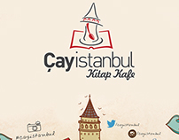 cayistanbul book & cafe menu design.