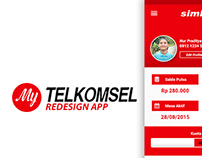 My Telkomsel Redesign android app