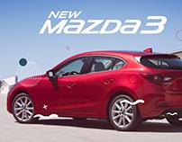 Landing Page - Mazda 3