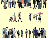 People are coming and going 7849/201606A