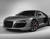 Audi R8 - 3D Model