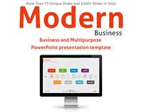 Modern Business PowerPoint presentation template