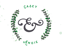 Casey & Angie :: Wedding Invitations + Map