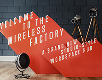 The Wireless Factory Branding