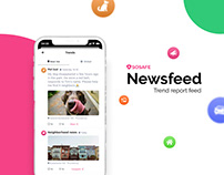 SOSAFE - Newsfeed