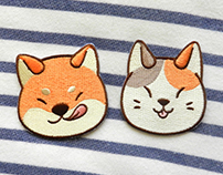 Shiba and Neko patch