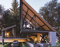 Private Residence, Santa Fe, Mexico City