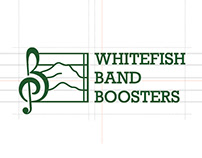 Whitefish Band Boosters Logo