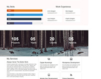 Creative Design Agency & Personal Portfolio HTML Templa