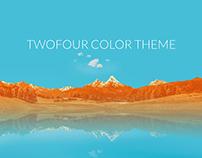 twofour color theme
