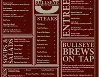 Bullseye Brewery & Steakhouse Menu